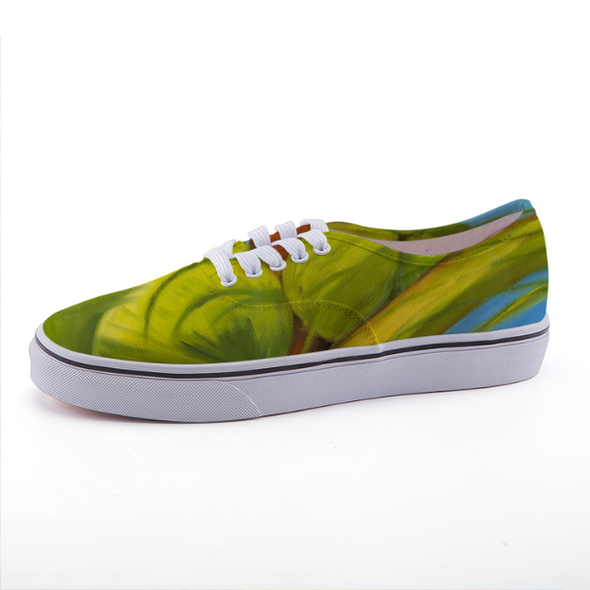 Green Coconuts Low-top Canvas Shoes