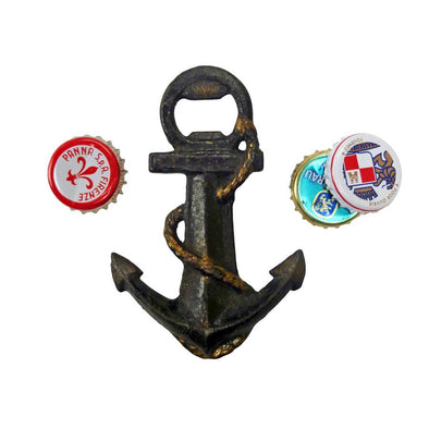 Anchors Away Cast Iron Bottle Opener