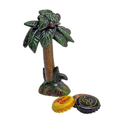Tropical Coconut Tree Bottle Opener