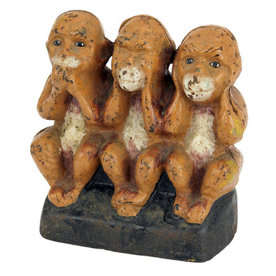See Speak Hear No Evil Monkeys Figurine