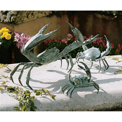 Set Of 3 Crabs Nr