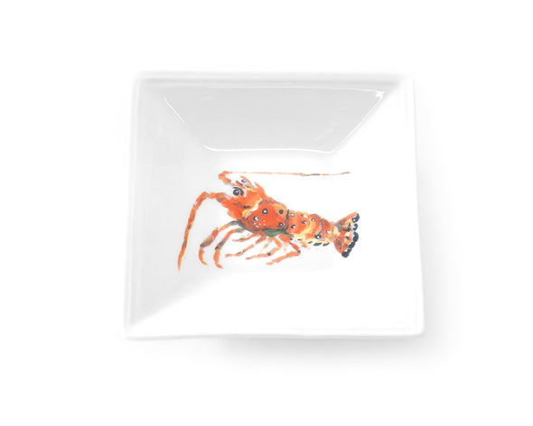 Lobster (white background) Tidbit Dish