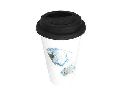 Pair of Angels Travel Mug