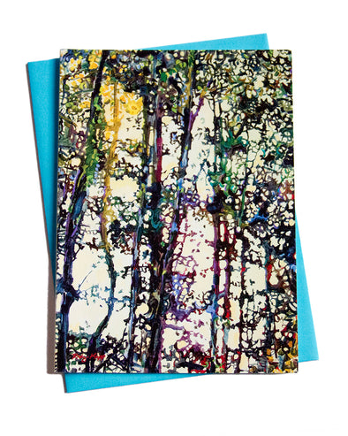 Tree Spirits Note Card