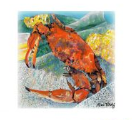 Cooked Crab Tea Towel