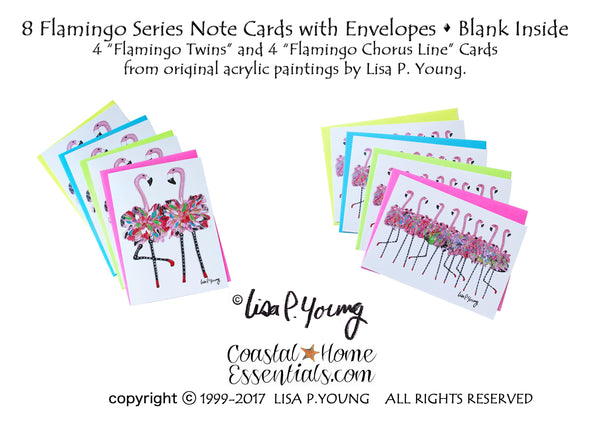 Flamingo Series Note Card Collection