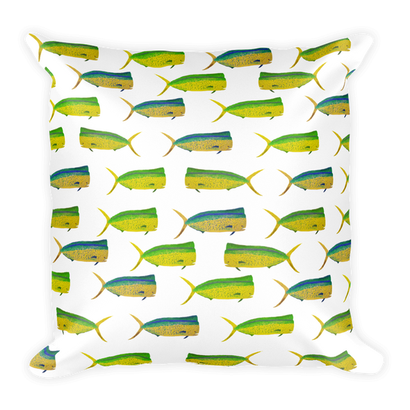 Mahi Print Square Pillow
