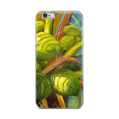 Green Coconuts iPhone Case