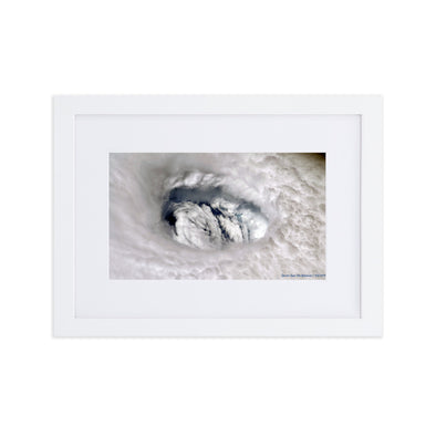 Dorian Eyes The Bahamas - Framed Print for Abaco Relief