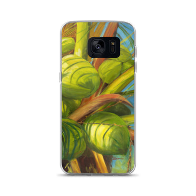 Green Coconuts Samsung Phone Case