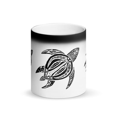 Color Changing South Pacific Sea Turtle Mug