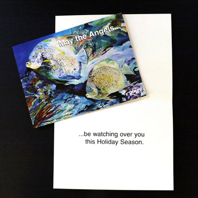 Angels Holiday Note Card