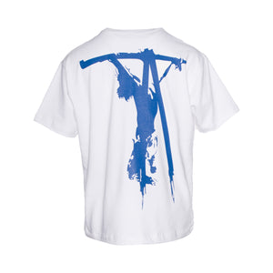 White Medea Crucifix Tee