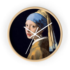 "Johannes Vermeer ""Girl with a White Pearl Earring"""