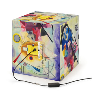 "Wassily Kandinsky ""Yellow-Red-Blue"" Cube Lamp"