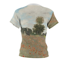 "Load image into Gallery viewer, Claude Monet ""Poppies"" Women's Tee"