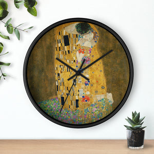 "Gustav Klimt ""The Kiss"" Wall Clock"