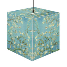 "Load image into Gallery viewer, Van Gogh ""Almond Blossoms"" Cube Lamp"