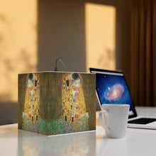 "Load image into Gallery viewer, Gustav Klimt ""The Kiss"" Cube Lamp"