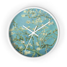 "Load image into Gallery viewer, Vincent van Gogh ""Almond Blossoms"" Wall Clock"
