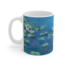 "Load image into Gallery viewer, Claude Monet ""Water Lilies"" Coffee Mug"