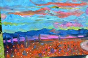 Tequila Sunset painting by Chiara Magni