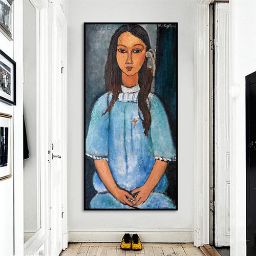 Amedeo Modigliani Alice Wall Art Wall Art
