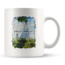 "Load image into Gallery viewer, Claude Monet ""Madame Monet and Her Son"" Coffee Mug"