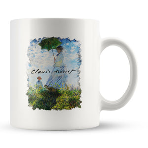 "Claude Monet ""Madame Monet and Her Son"" Coffee Mug"