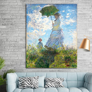 "Claude Monet ""Madame Monet and Her Son"" Wall Art"