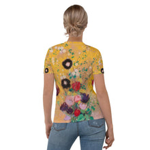 "Load image into Gallery viewer, Odilon Redon ""Vase of Flowers"" Women's T-Shirt"