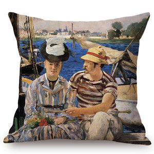 Edouard Manet Inspired Cushion Covers