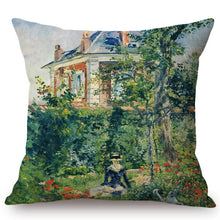 Load image into Gallery viewer, Edouard Manet Inspired Cushion Covers