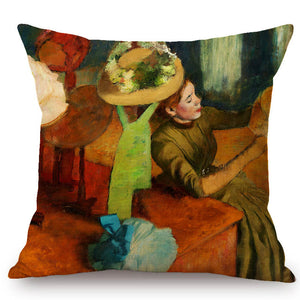 Edgar Degas Inspired Cushion Covers