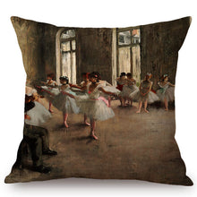 Load image into Gallery viewer, Edgar Degas Inspired Cushion Covers