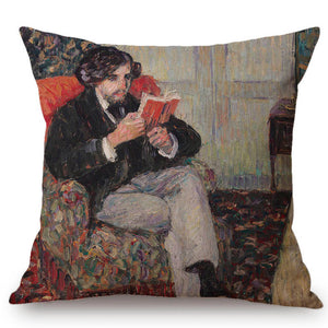 Camille Pissarro Inspired Cushion Covers
