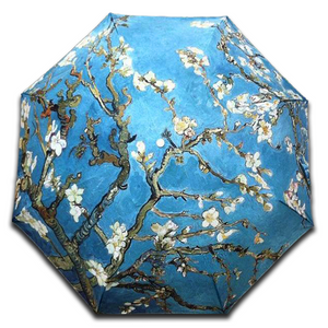 "Van Gogh ""Almond Blossoms"" Umbrella"