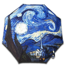 "Load image into Gallery viewer, Van Gogh ""Starry Night"" Umbrella"