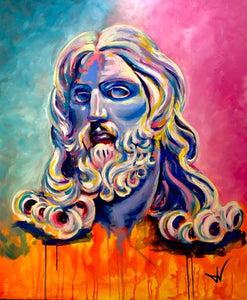 Bernini's Salvator Mundi painting by JV Fiori