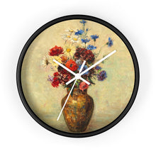 "Load image into Gallery viewer, Odilon Redon ""Flowers in a Vase"" Wall Clock"