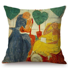 Load image into Gallery viewer, Henri Matisse Inspired Cushion Covers Two Girls Cushion Cover