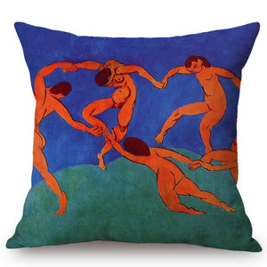 Henri Matisse Inspired Cushion Covers Dance Ii Cushion Cover