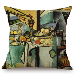 Henri Matisse Inspired Cushion Covers Still Life Cushion Cover