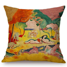 Load image into Gallery viewer, Henri Matisse Inspired Cushion Covers The Joy Of Life Cushion Cover
