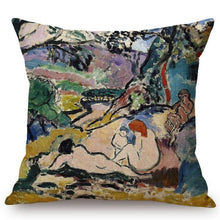 Load image into Gallery viewer, Henri Matisse Inspired Cushion Covers Pastoral Cushion Cover