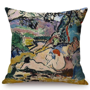 Henri Matisse Inspired Cushion Covers Pastoral Cushion Cover