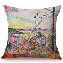 Load image into Gallery viewer, Henri Matisse Inspired Cushion Covers Luxury Calm And Desire Cushion Cover