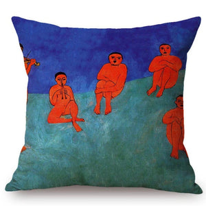 Henri Matisse Inspired Cushion Covers Music Cushion Cover