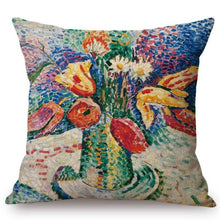 Load image into Gallery viewer, Henri Matisse Inspired Cushion Covers Parrot Tulips Cushion Cover