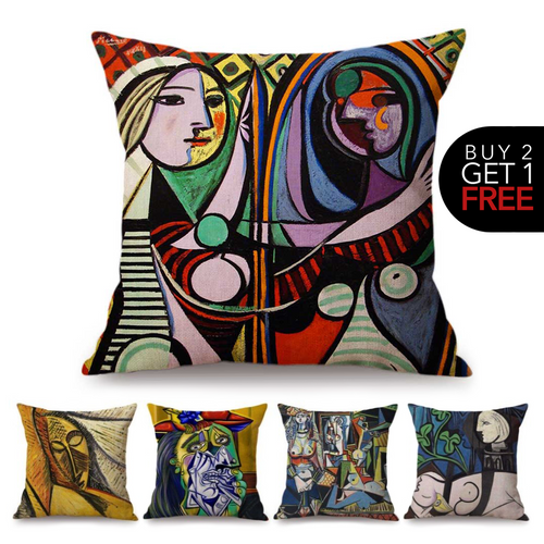 Pablo Picasso Inspired Cushion Covers